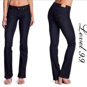 Level 99 Slim Boot High Rise Jeans